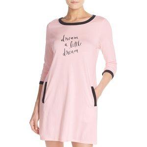 Kate Spade Pink Sleep Shirt